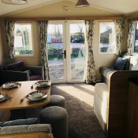Living area in 2017 Willerby Peppy II static caravan